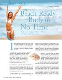 A beach-ready body in no time magazine article